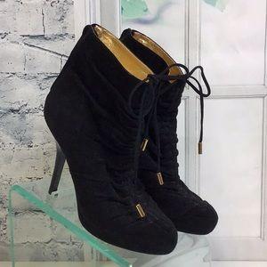 DKNY black bootie 9